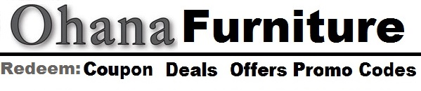 Ohana furniture coupon deals